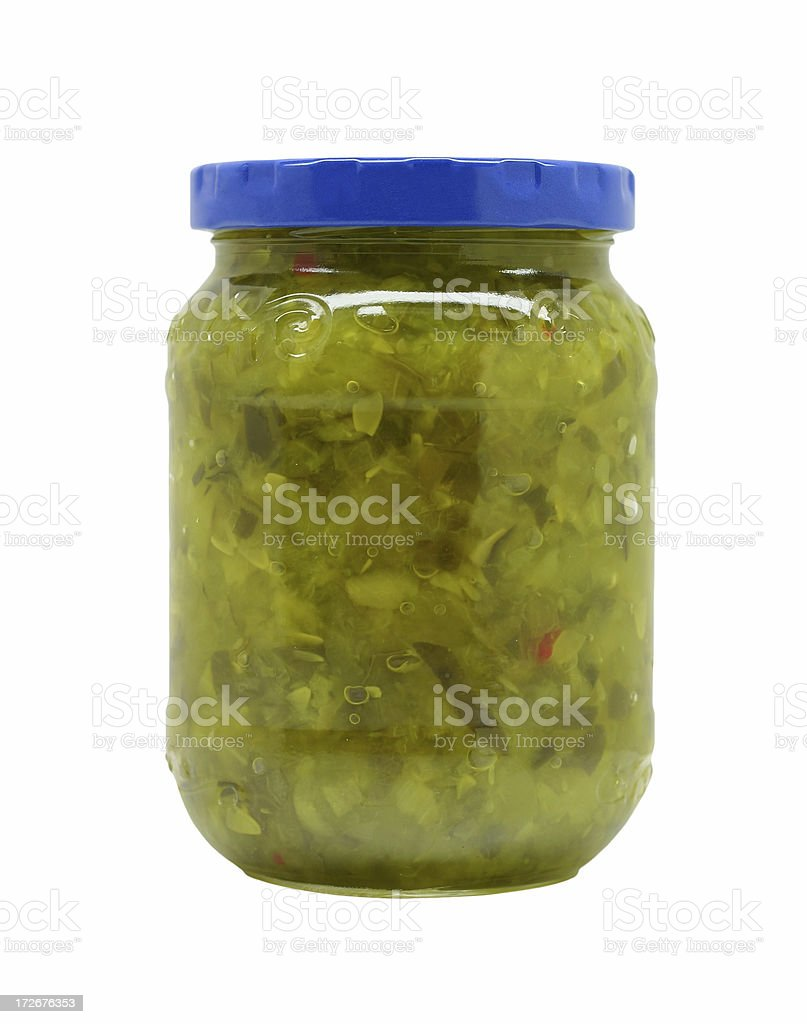pickle relish royalty-free stock photo