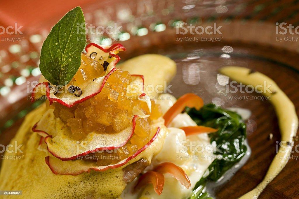 pickled sturgeon royalty-free stock photo