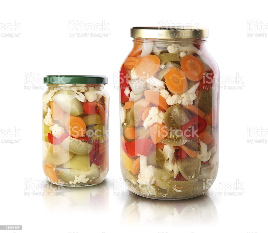 Pickled vegetables royalty-free stock photo