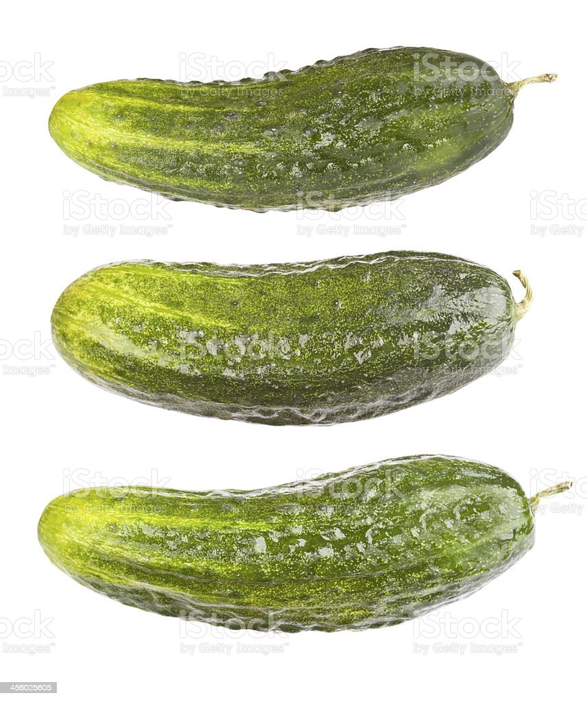 Pickles (clipping path included) stock photo