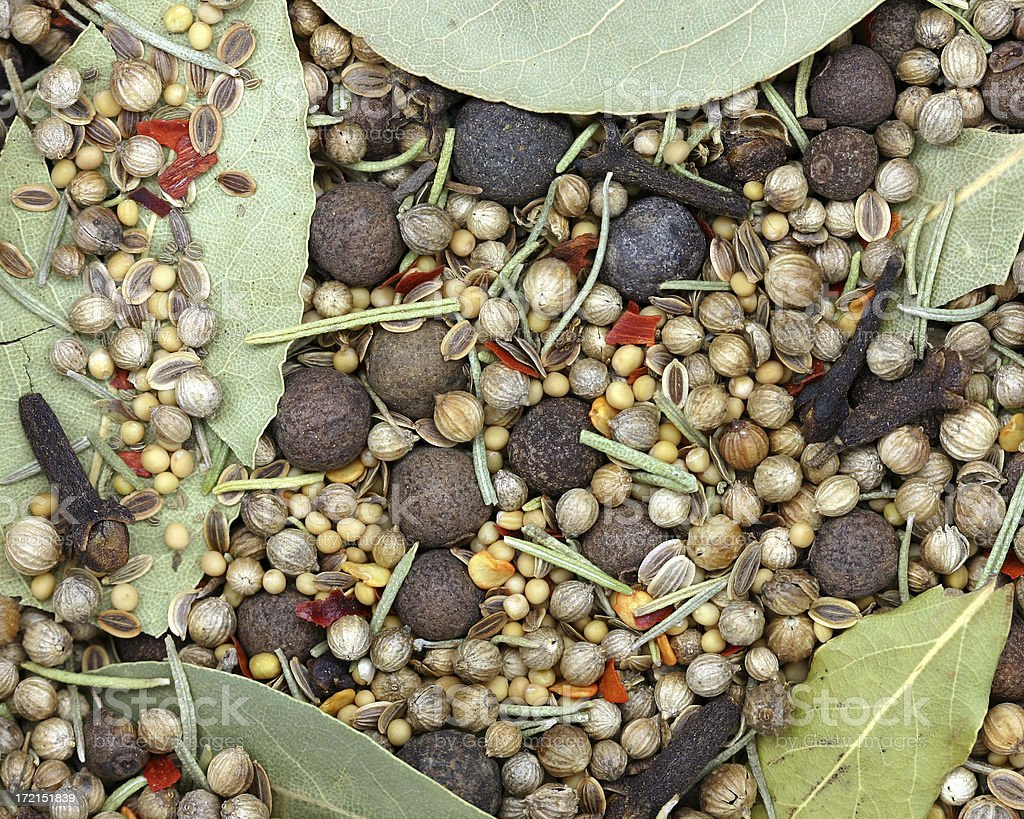 pickling spices royalty-free stock photo