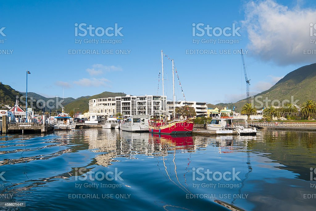 Pickton Boat Harbour royalty-free stock photo
