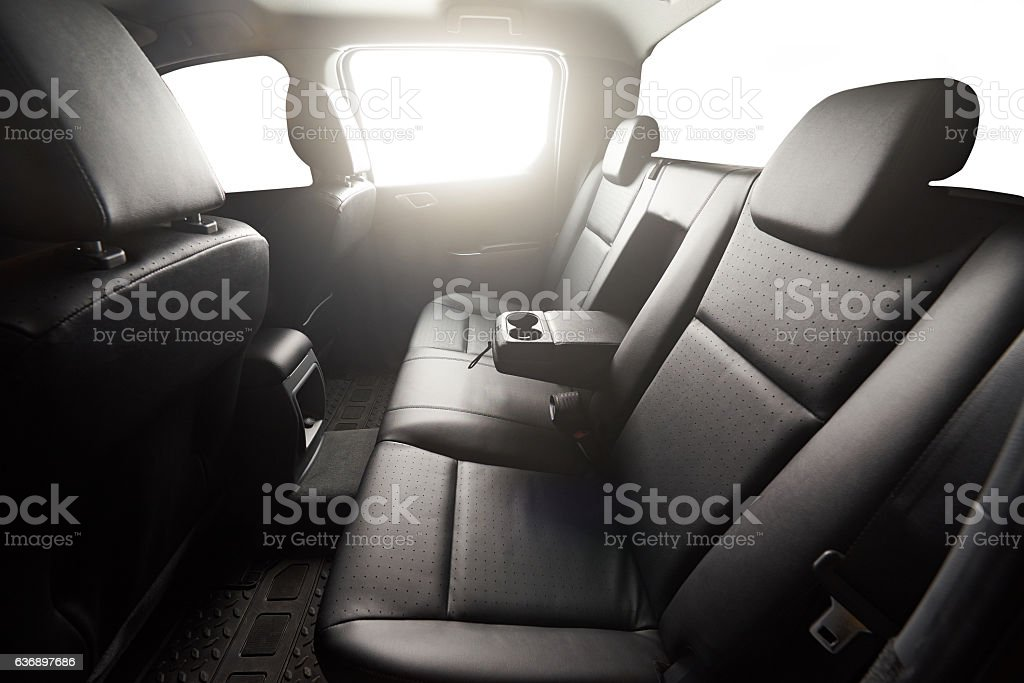 Pickup back leather seat – Foto