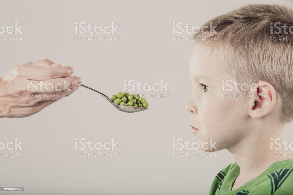 Picky Eater stock photo