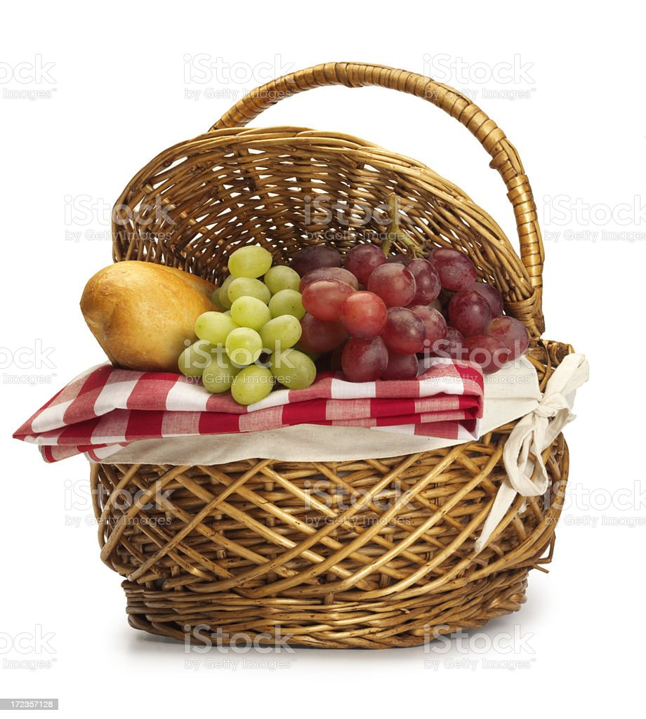 Picnic Basket royalty-free stock photo
