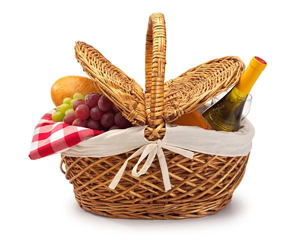 cesta de piquenique - cesta - fotografias e filmes do acervo