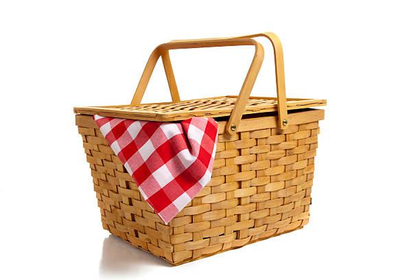 cesta de piquenique com 50 - cesta - fotografias e filmes do acervo