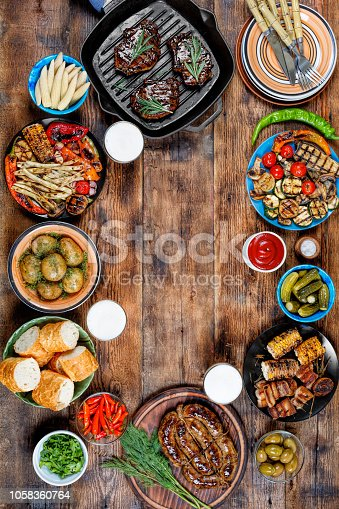 657146780istockphoto BBQ, picnic, beer, Memorial Day, united states, lunch, a day off 1058360764