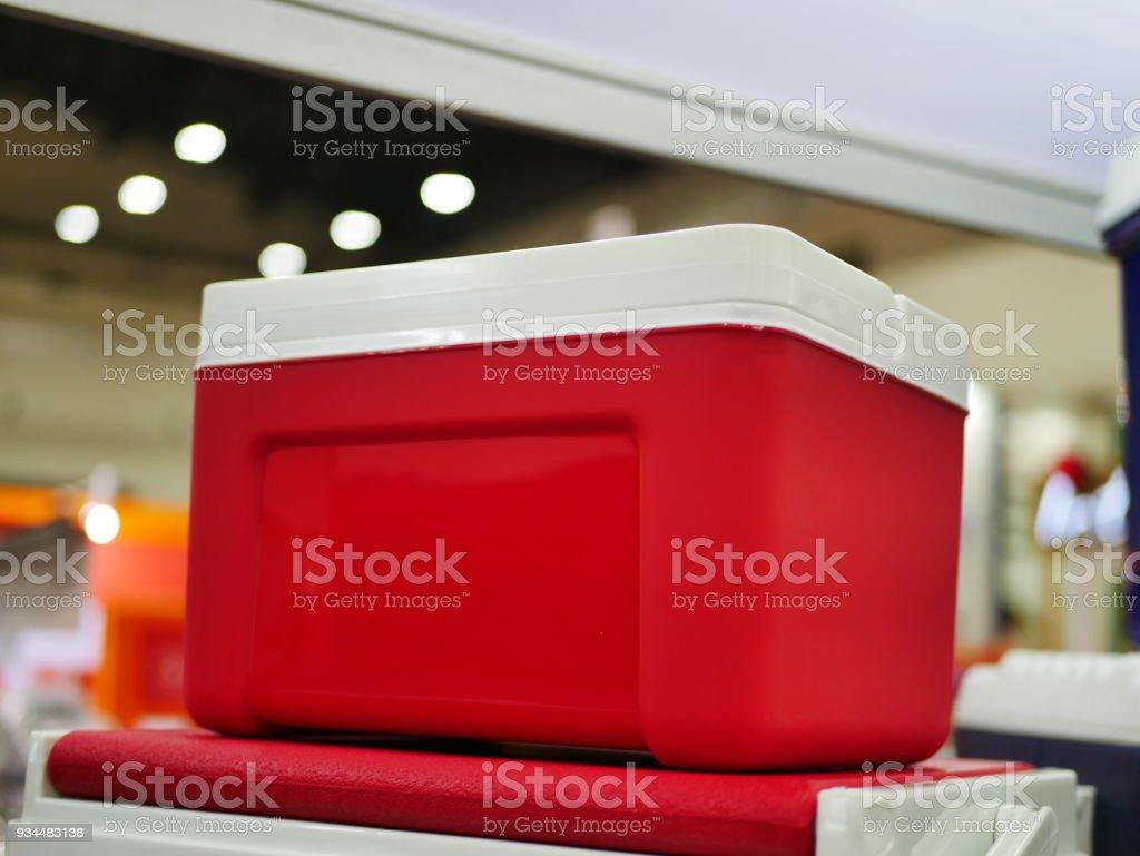 Resfriador de piquenique - foto de acervo