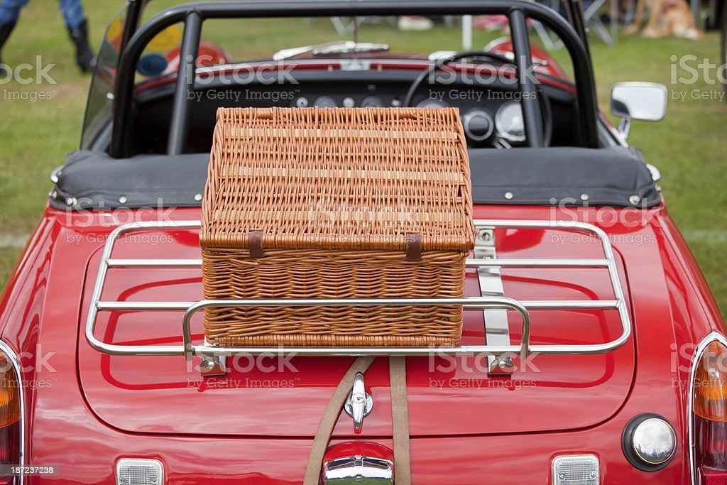 Picnic Day Out royalty-free stock photo