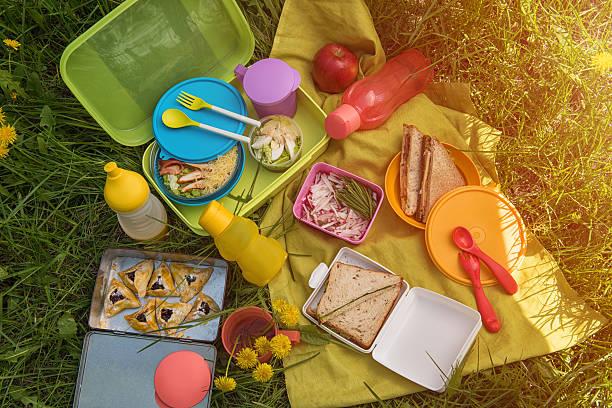 Picknick-Speisen im Freien – Foto