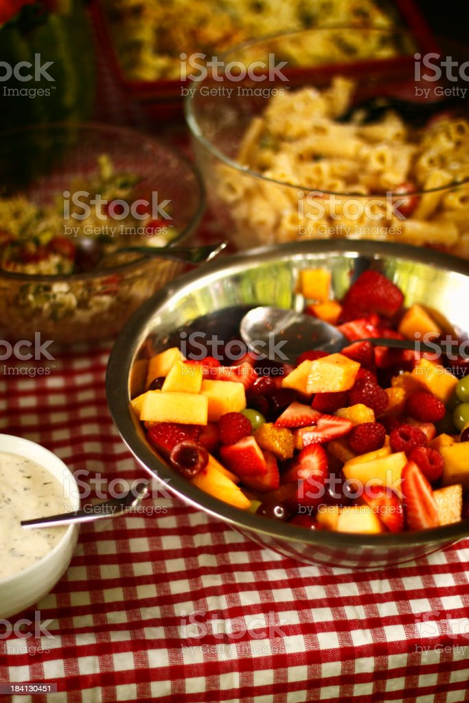 Picnic Foods royalty-free stock photo
