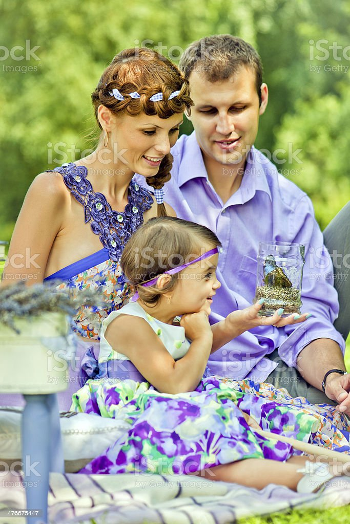 Picnic royalty-free stock photo
