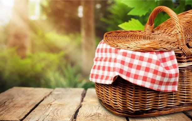 picnic. - pasto al sacco foto e immagini stock