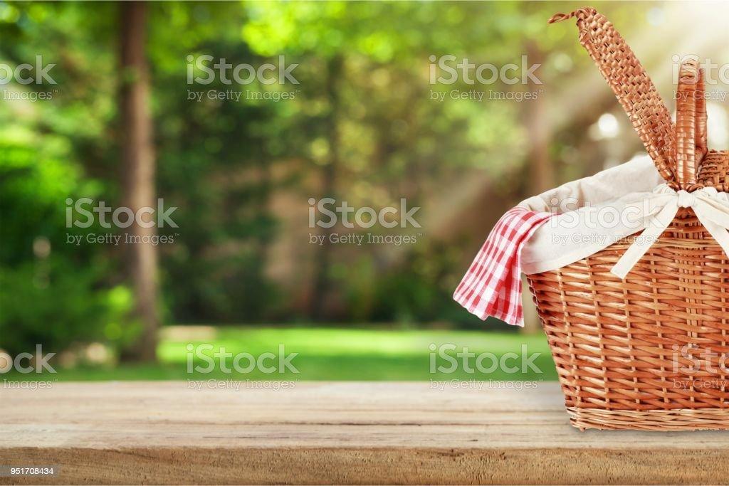Ein Picknick. – Foto