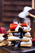istock Picnic smores dessert 841836476