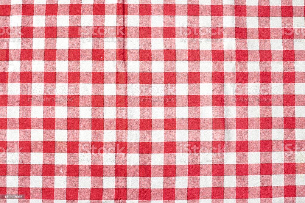 Picnic Tablecloth royalty-free stock photo