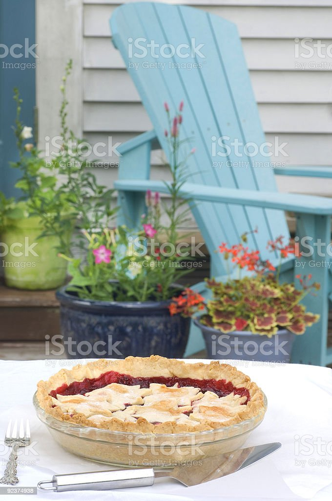 Picnic time royalty-free stock photo