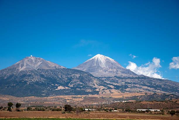 Pico de Orizaba Mexico Pico de Orizaba with snow on the top orizaba stock pictures, royalty-free photos & images