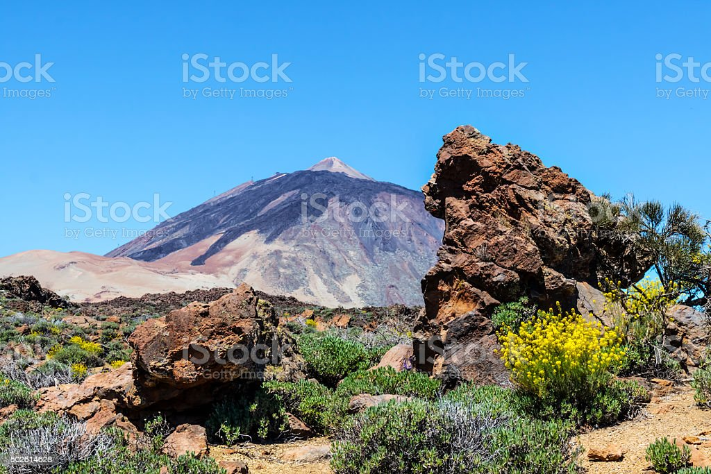 Pico de Teide stock photo
