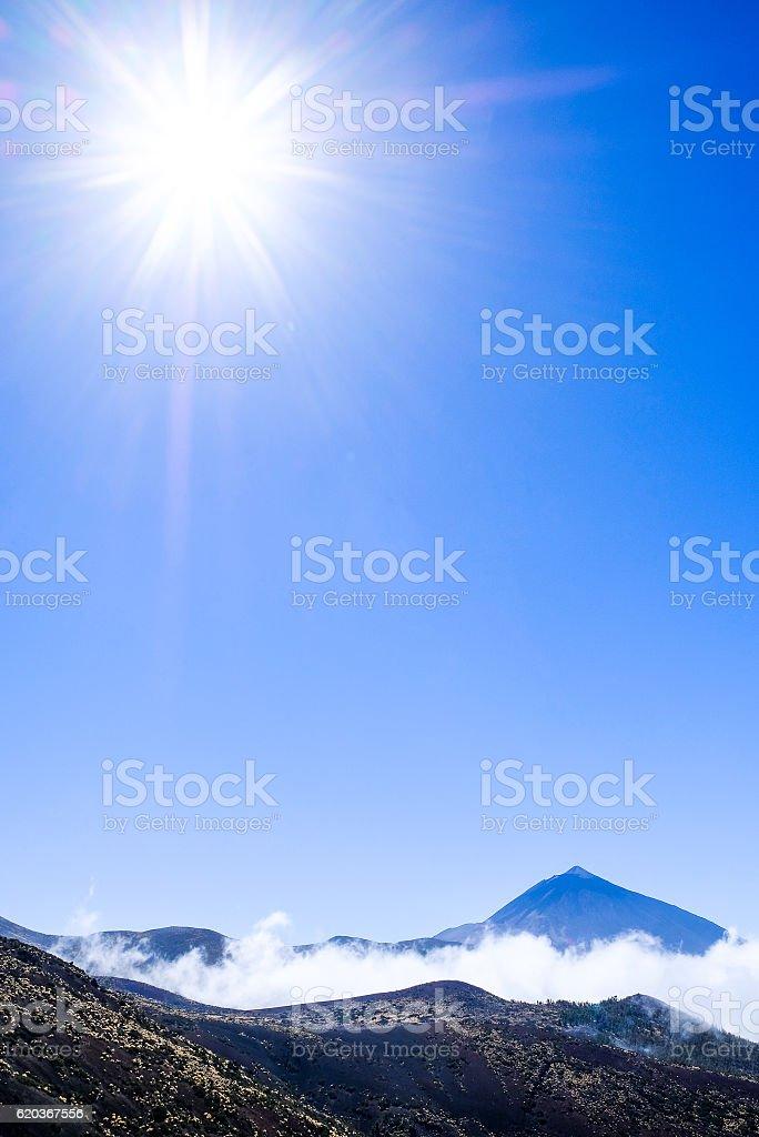 Pico del Teide zbiór zdjęć royalty-free