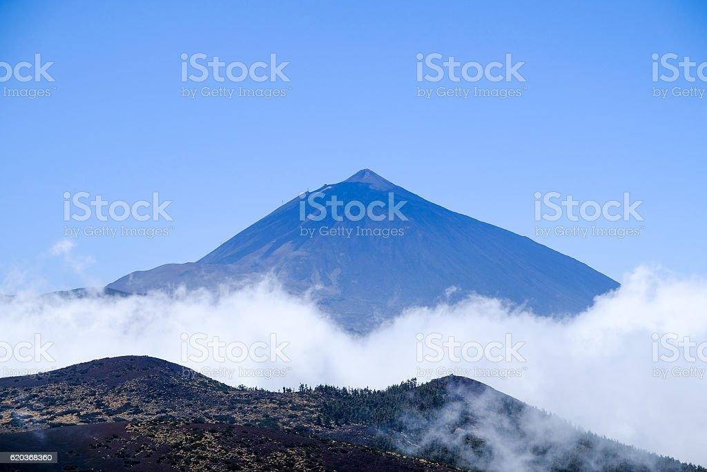 pico de Teide foto de stock royalty-free