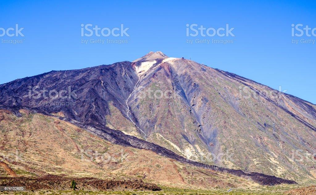 pico del teide royalty-free stock photo