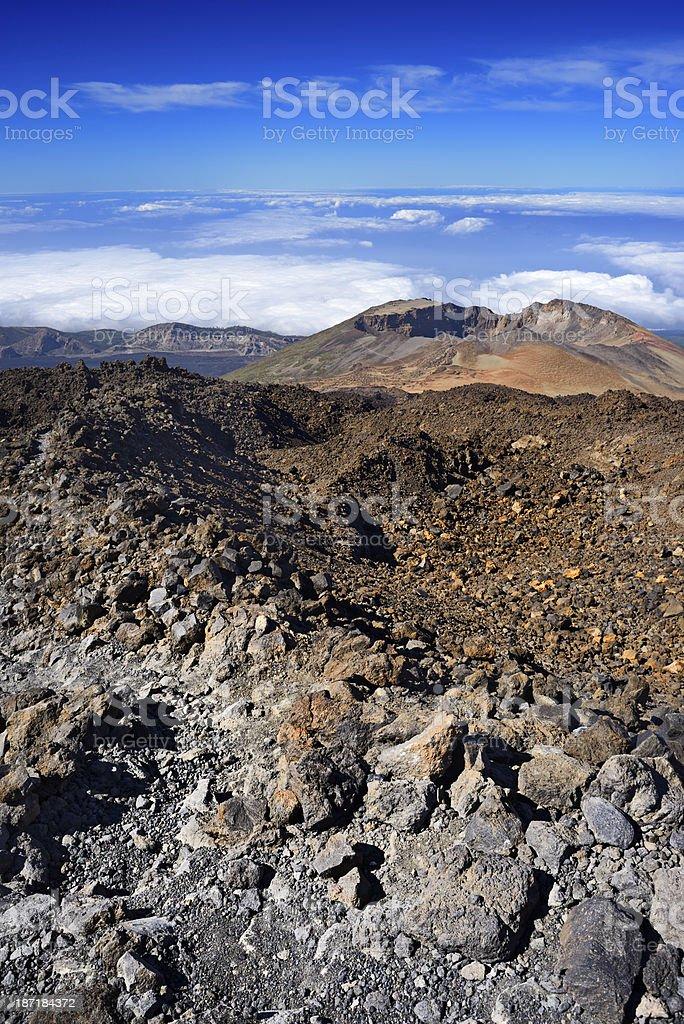 Pico Viejo,Tenerife,Spain royalty-free stock photo
