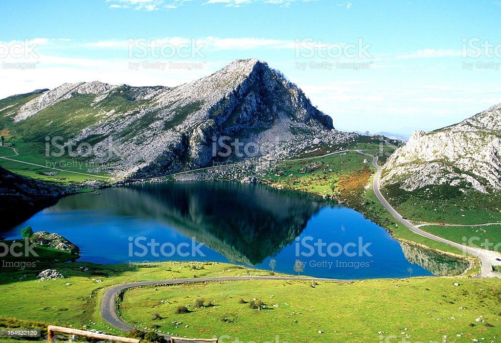 Picos de Europa stock photo