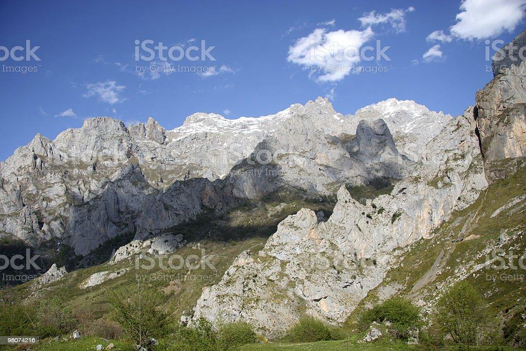 Picos de Europe royalty-free stock photo