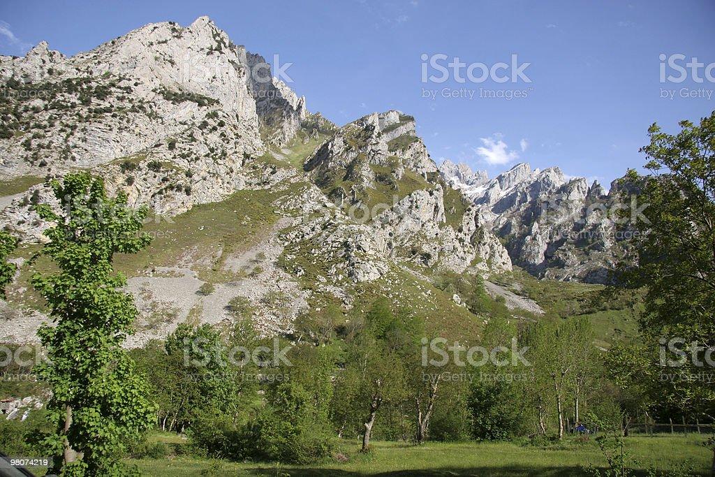 Montagne dei Picos de Europe foto stock royalty-free