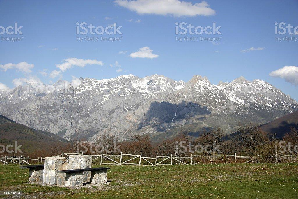 Picos of Europe royalty-free stock photo