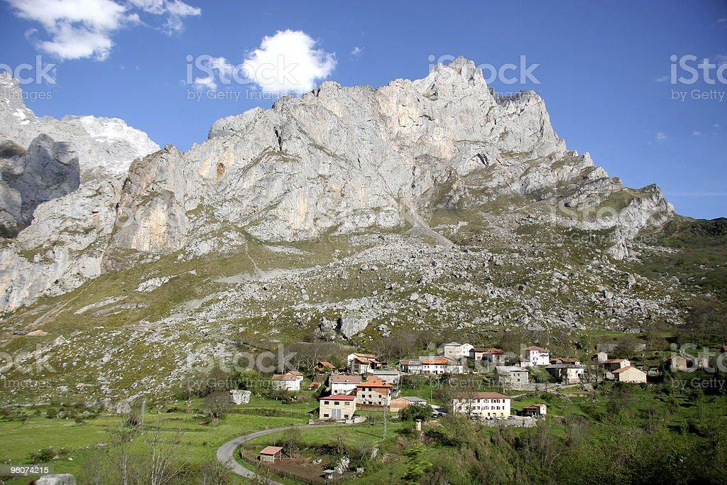 Montagne dei Picos Europa foto stock royalty-free