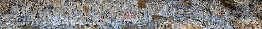 Pictograph Cave - Pictograph.Cave State Park royalty-free stock photo