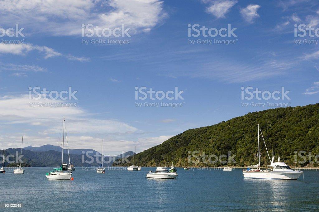 Picton Harbor royalty-free stock photo
