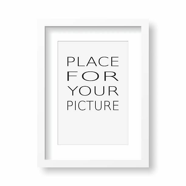 pictore frame - karten wandkunst stock-fotos und bilder