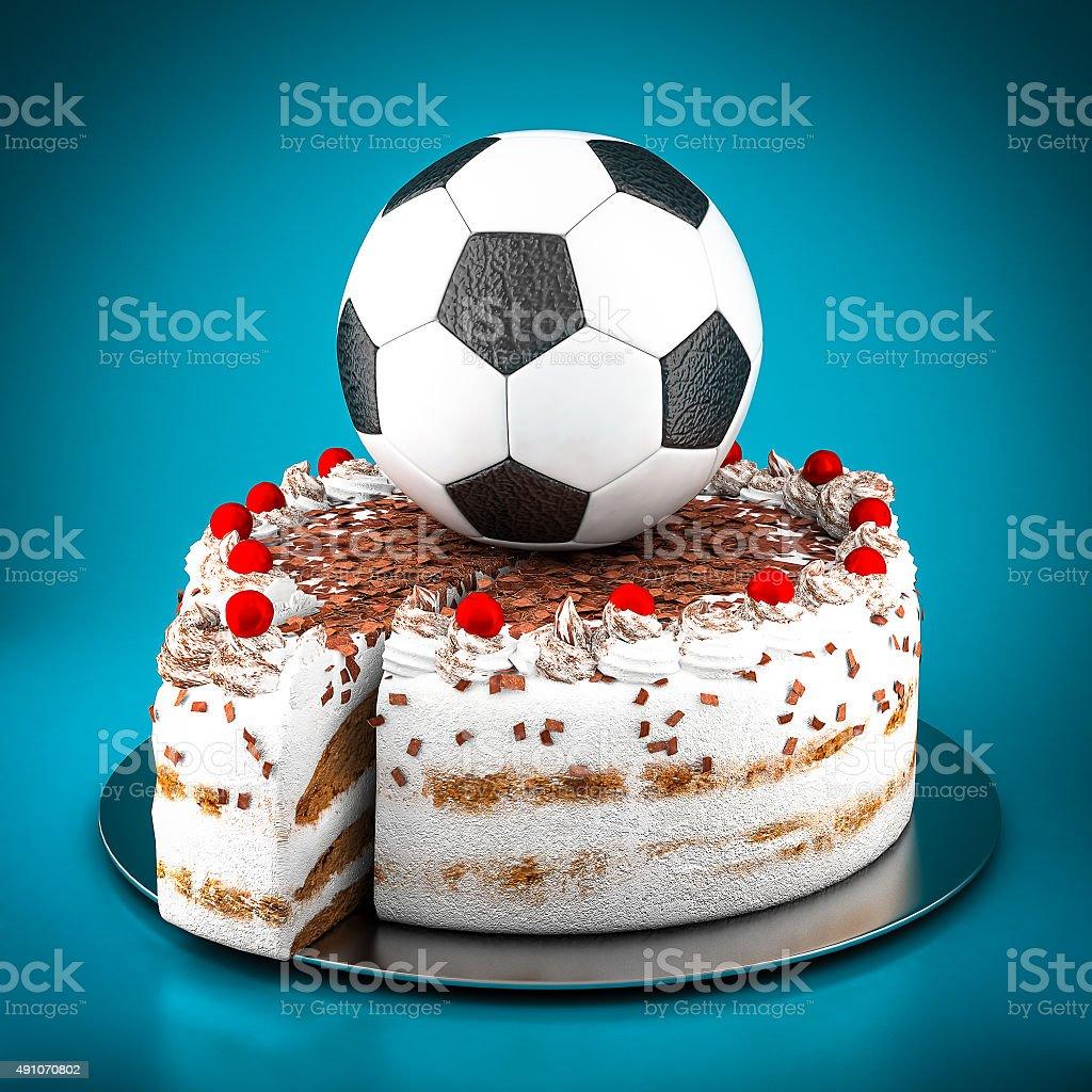 Bild eines Fußball-ball – Foto