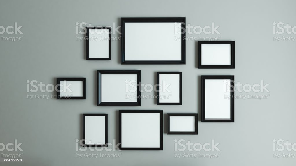 picture black border frame stock photo