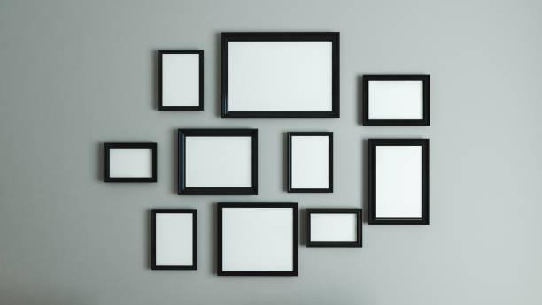 picture black border frame stock photo