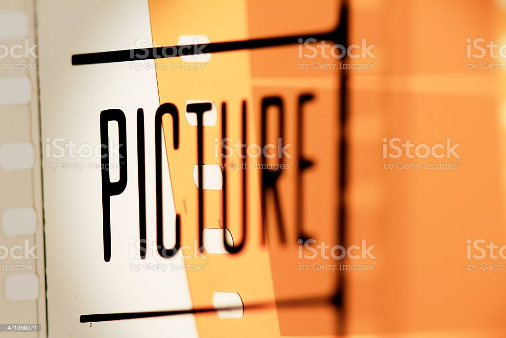 Picture Film Frame royalty-free stock photo