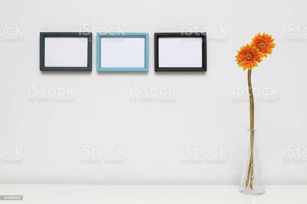 Picture Frame for Home Decoration. royalty free stockfoto