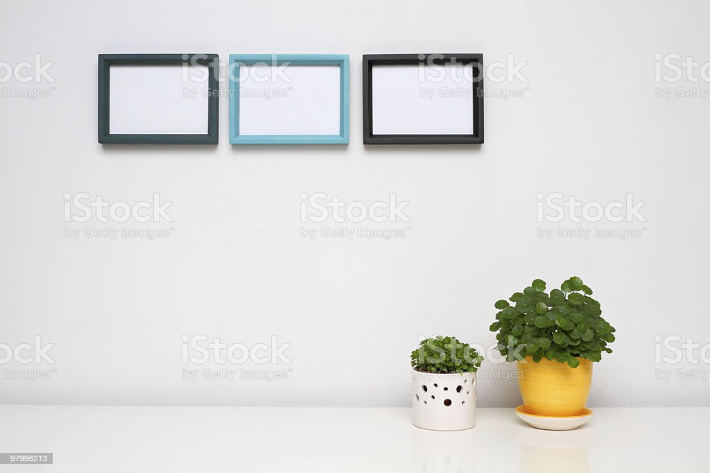 Picture Frame for Home Decoration. royalty-free stock photo