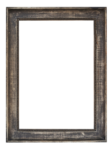 Old Wooden Picture Frame.