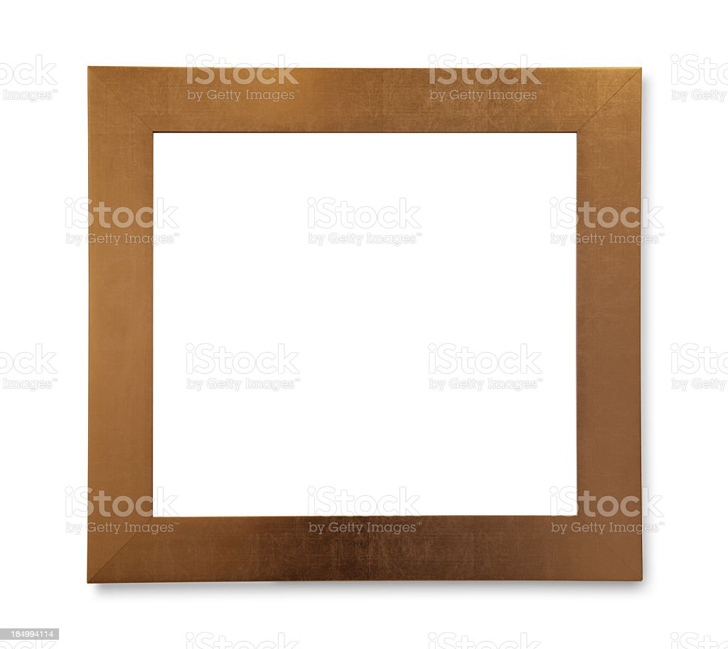 Picture Frame (Isolated) royalty-free stock photo