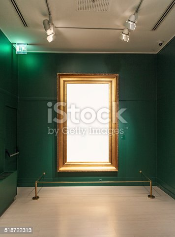 istock Picture frame 518722313
