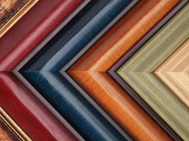 picture frame samples in various colors and textures - customize stock pictures, royalty-free photos & images