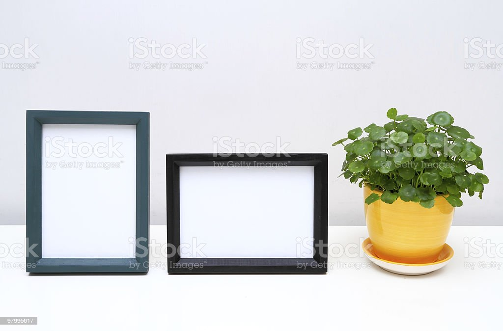 Picture Frames for Home Decoration. royalty-free stock photo