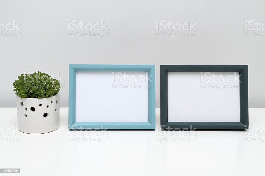 Picture Frames for Home Decoration. royalty free stockfoto