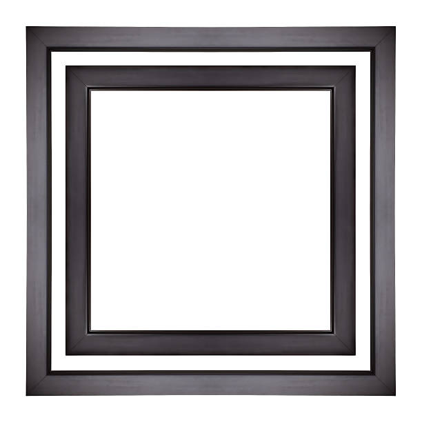 Picture Frames Black picture frames isolated black border stock pictures, royalty-free photos & images