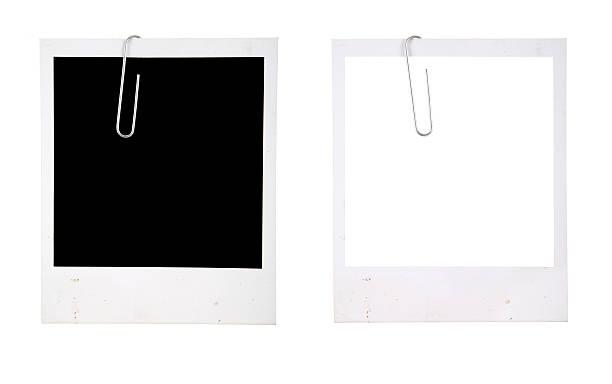 Bilderrahmen mit Büroklammer – Foto